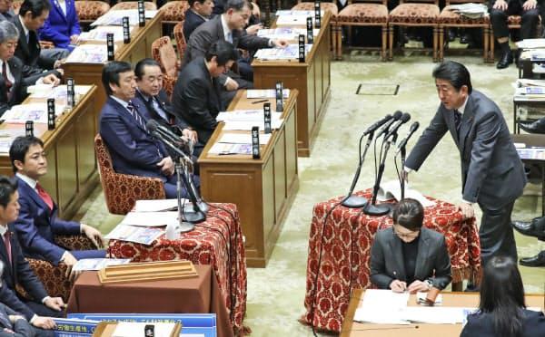 衆院予算委の開催は新内閣発足後初めてとなります(写真は18年2月の衆院予算委)
