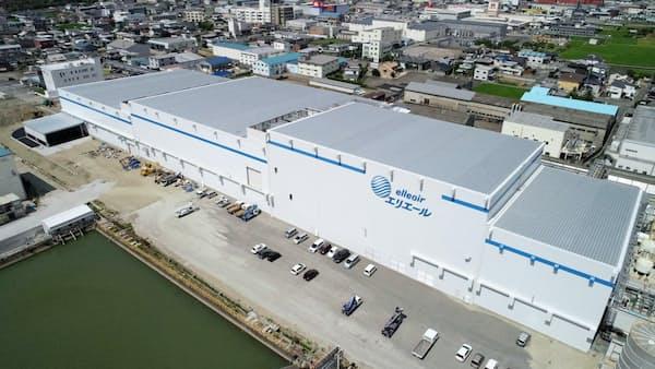 愛媛に新産業拠点 相次ぎ始動 大王製紙、四国中央市に家庭紙工場