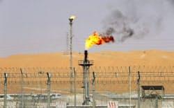 サウジアラビアの油田=ロイター