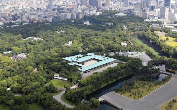 代替わりに伴い、宮内庁の体制も大きく変わる(皇居・宮殿)