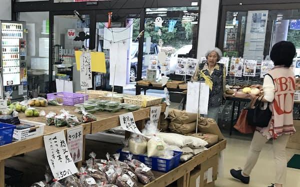小値賀町の野菜が届かなくなった新上五島町のスーパー(10月17日)