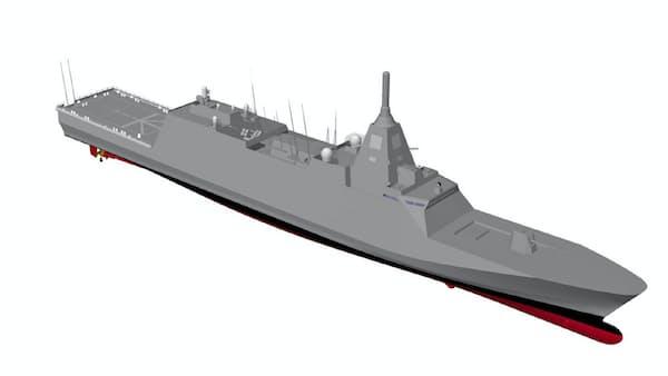 三菱重工と三井E&Sがタッグ、小型護衛艦を建造