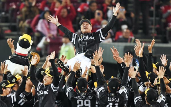 ソフトバンクは2年連続9度目の日本一に輝いた