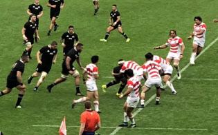 日本対ニュージーランド@味の素スタジアム