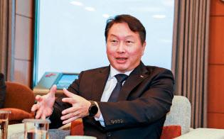 北朝鮮経済が開放された場合、「日韓の産業協力もこれまで以上に重要になる」と話す崔泰源会長