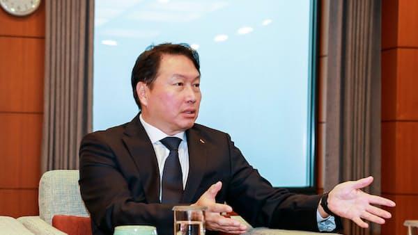 エネ・IT融合に商機 韓国SKグループ崔会長