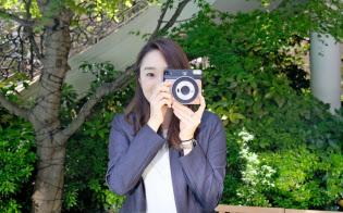 インスタントカメラ「チェキ」は欧米や新興国で好調な販売が続く