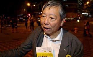 李卓人氏は「ここであきらめたら中国共産党との戦いに負けてしまう」と話す