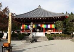 平安仏の宝庫と言われる櫟野寺