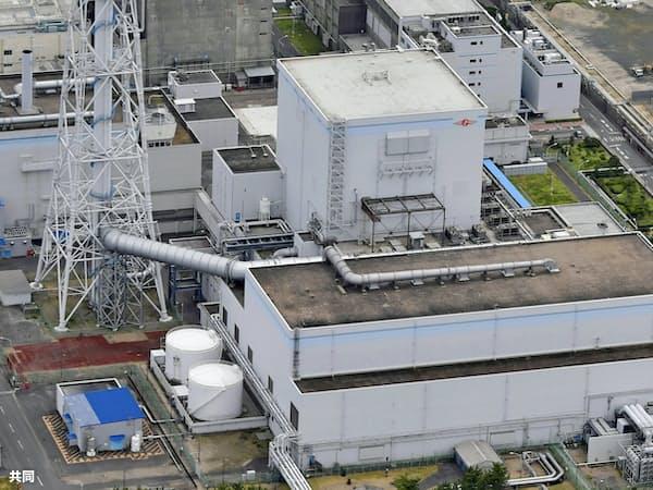 日本原子力発電の東海第2原発=共同