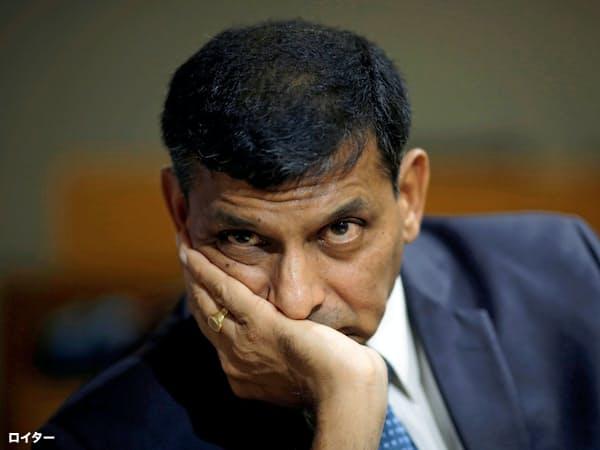 ラジャン前総裁はRBIの政策を尊重するようインド政府に求めた=ロイター