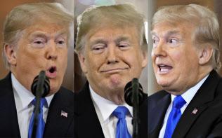 トランプ米大統領は「日本は米国をとても不公正に扱ってきた」と不満を表明する=AP