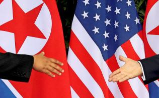 トランプ米大統領は金正恩委員長との2回目の会談に意欲を示す=ロイター
