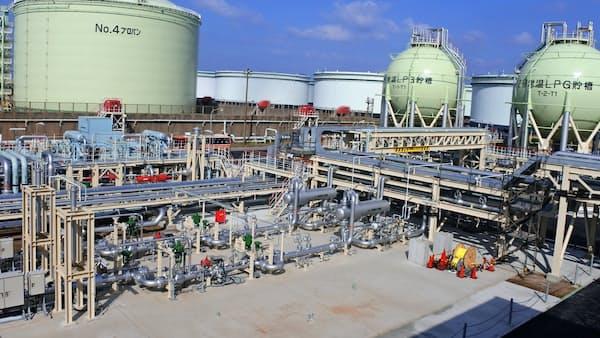 東電、都市ガス自前生産 初の製造設備稼働