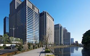 オフィス需要は好調だが、利益成長は小幅にとどまる(東京都千代田区)