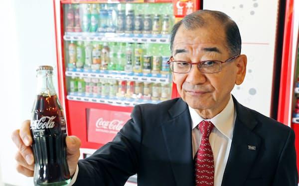 コカ・コーラボトラーズジャパンホールディングスの吉松民雄社長