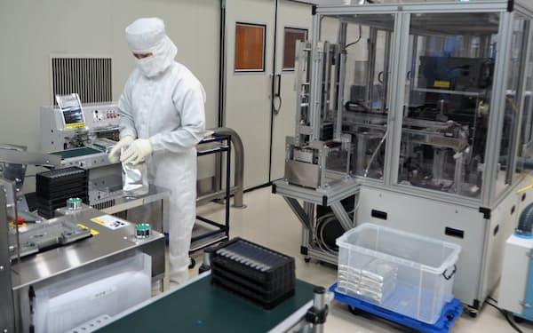 糖尿病の検査装置用の試薬の製造設備を導入した(群馬県藤岡市のサカエ東平井工場)