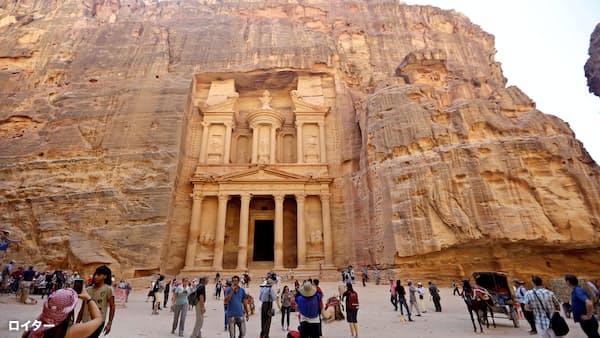 ヨルダン、邦人47人無事 ペトラ遺跡の土石流 現地大使館確認