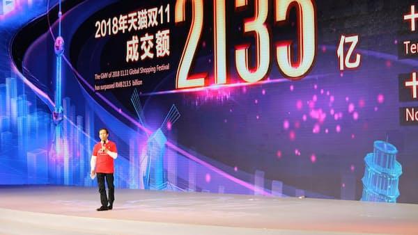 中国・独身の日 アリババ、過去最高の3兆円超え