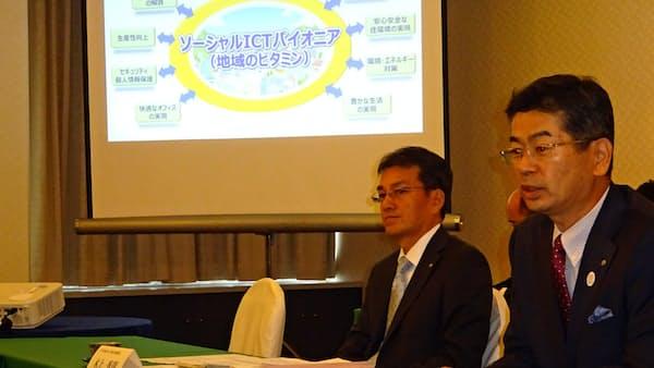 NTT西日本、成長分野の売上高6割に 2025年度目標