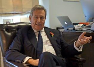 国際戦略研究所のジョン・チップマン所長
