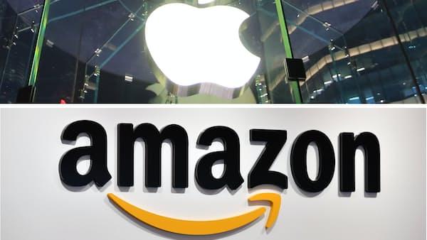 アップルとアマゾン、1兆ドルクラブの失速と秘策