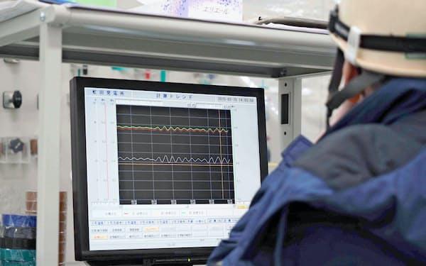 北電向けに水力発電所の保守管理システムを提供している