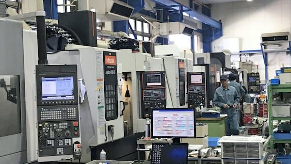 精密加工技術、インドでも市場開拓 フラスコ