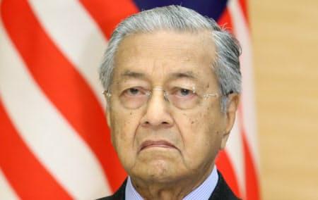 マレーシアのマハティール首相