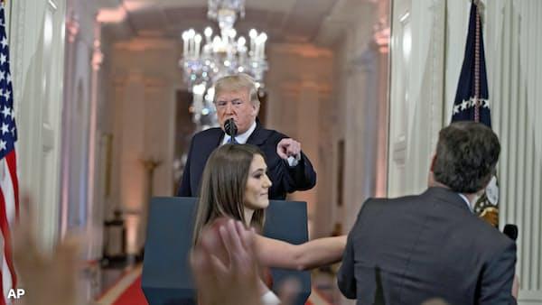 報道の自由を脅かすトランプ大統領