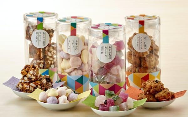 明日香村の野菜や果物を使った菓子