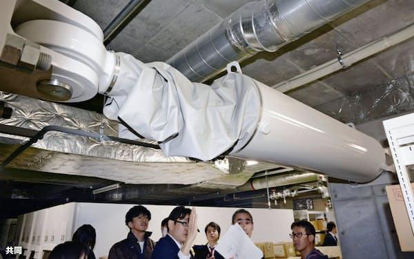 検査不正が発覚した免震・制震装置は全国に散らばる(北海道庁舎で使われている免震装置)