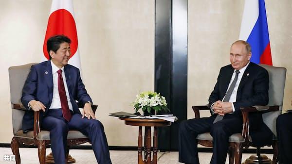 首相、年明けにも訪ロ 「平和条約交渉仕上げる」