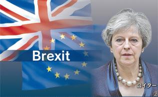 英議会で過半数の賛成を得るメドは立っていない