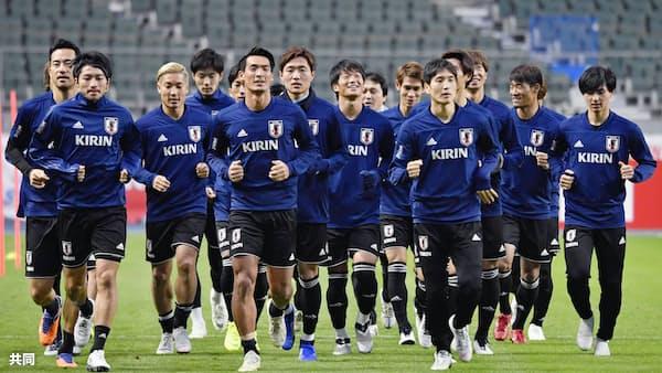 サッカー日本代表、先発は10月メンバーが軸 16日ベネズエラ戦