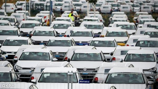 独新車販売低迷、ECBの出口戦略の重荷に