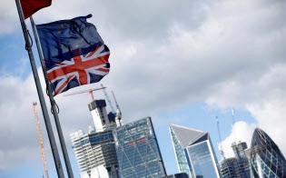 国際金融センターとしてのロンドンの地位が低下している=ロイター