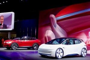 VWは一気にEVの普及を目指す(3月、ジュネーブ国際自動車ショー)