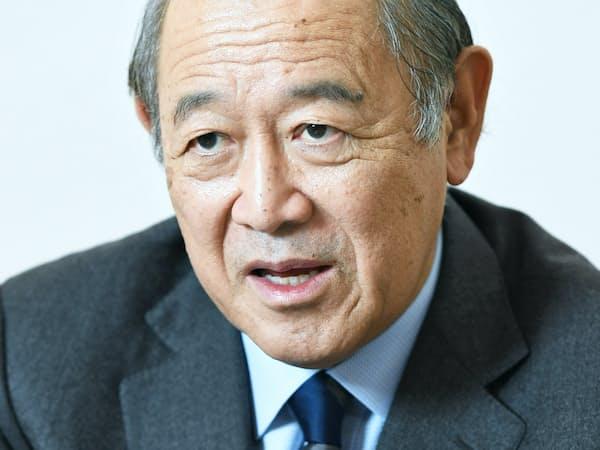 中曽根平和研究所理事長の藤崎一郎氏