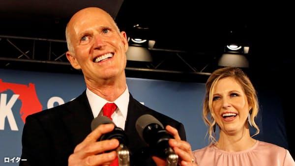 フロリダ上院、与党・共和が激戦制す 米中間選