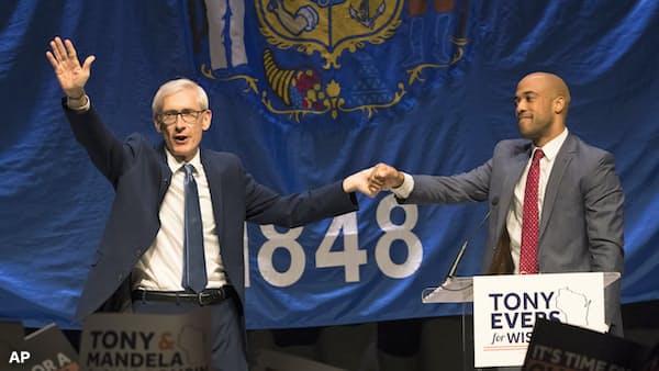 米の州知事選決着、野党・民主が勢力拡大