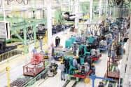 五日市工場は2012年に稼働させた同社の「マザー工場」