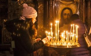 正教会の統一を求める声が増えている(キエフのボロディムイル教会)