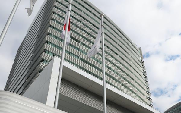 横浜市西区の日産自動車本社