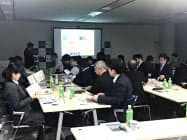 会議には各大学の幹部らが出席した(金沢市)