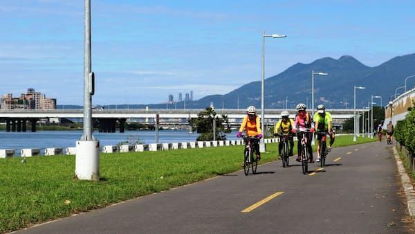 台湾本島を自転車で一周、「環島」に脚光