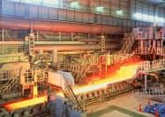 日本の生産量は減った(写真はJFEスチールの製鉄所)