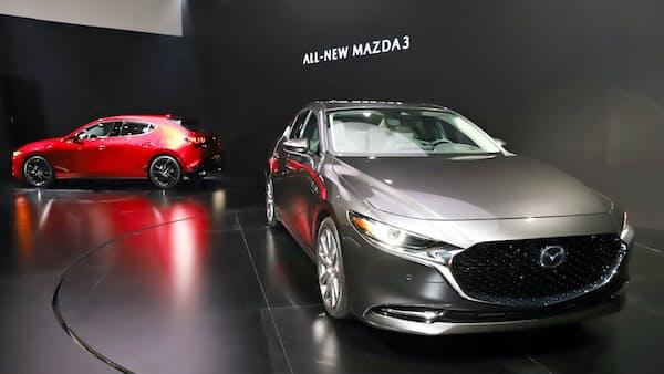 新型戦略車も北米で初公開、マツダの捲土重来