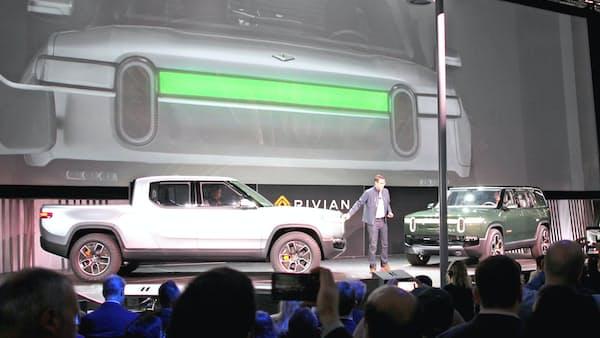 小型トラック型EVも登場 ロスオートショー開幕