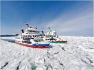 網走の流氷は冬場の観光スポットとして人気が高い